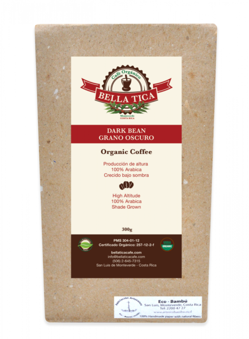 Bella Tica Organic Coffee Dark Bean
