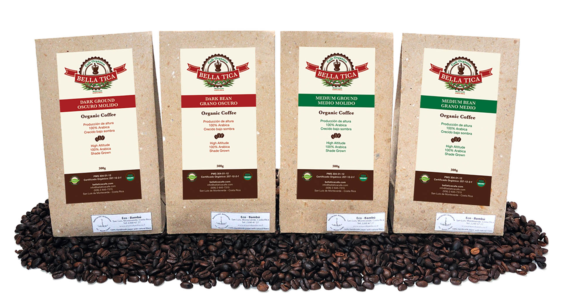 Bella Tica Coffee Selection